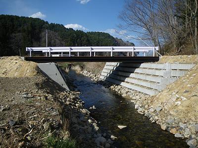 橋梁設計(完成写真)